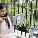 OMT 태블릿 자바라거치대 침대책상거치 OTA-JAB04 실버
