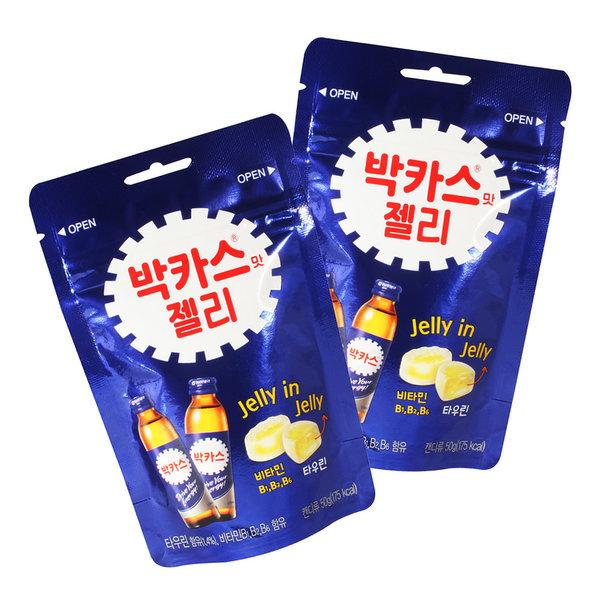 박카스맛 젤리50g x 8봉(1케이스) 무카페인 간식