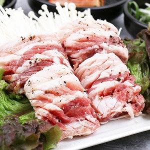 돼지고기 벌집삼겹살 500g