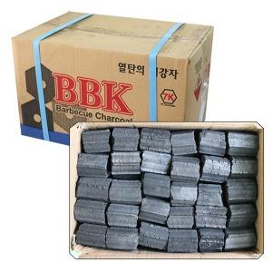 /캠핑/업소용 BBK 열탄7K 1박스(6.5kg)5cm/숯/참숯