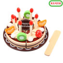 원목 생일 케이크 자르기 칼접시 포함