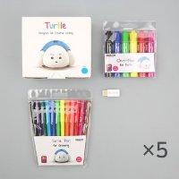 터틀로봇+USB동글(색상랜덤)+마커+사인펜(5세트)