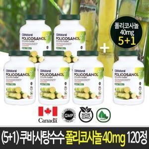 (5+1)쿠바산 사탕수수 폴리코사놀 40mg/캐나다 생산