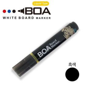 BOA 생잉크보드마카 S/흑색 BOA마커 보아펜 보드마카