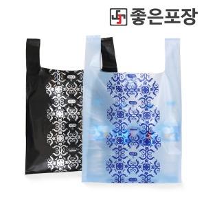 비닐봉투/지퍼백/위생/봉지/재활용/쓰레기/검정/택배