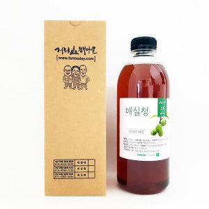 지리산 친환경 매실원액/매실청/매실발효액 1000ml