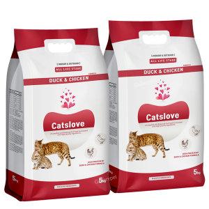 캣츠러브 5kg(1+1) 고양이사료 10kg