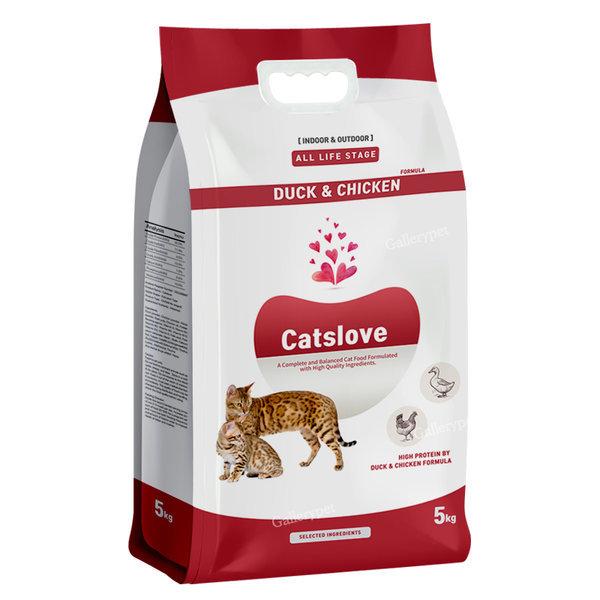 캣츠러브 오리와치킨 5kg 고양이사료 (샘플증정)