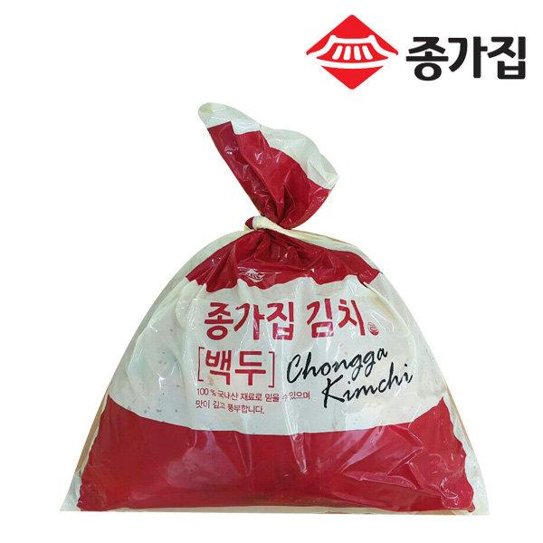 종가집 포기김치 10kg (백두) / 공식판매처