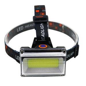 충전식 LED 헤드랜턴 등산 낚시 랜턴 광폭UP 6684헤드