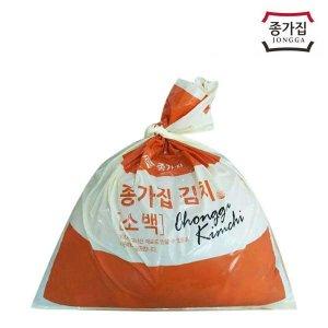 종가집 포기김치 10kg (소백) / 배추김치 / 공식판매