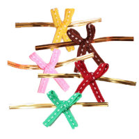 스티치타이 5개(핑크) 크리스마스 선물포장재료모음