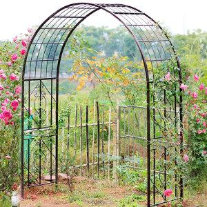 엔틱 초대형 정원아치 블랙 가든아치 장미아치 N056