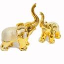 황금코끼리2p세트 장식소품 꾸미기 집들이 개업선물