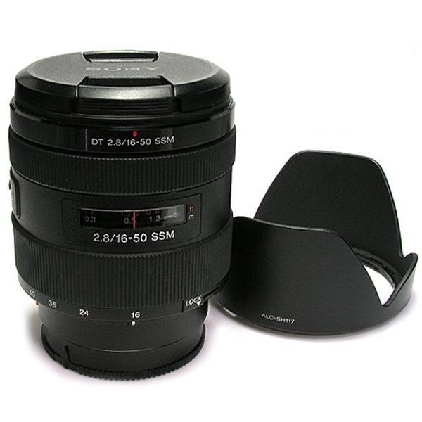 Sony DT 16-50mm F2.8 SSM 정품 (후드) 가산카메라