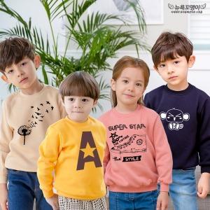 FW신상/유아티셔츠/아동기모맨투맨/캐릭터티셔츠