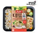 더담은 도시락 스테이크갈릭맛 퀴노아영양밥 1팩