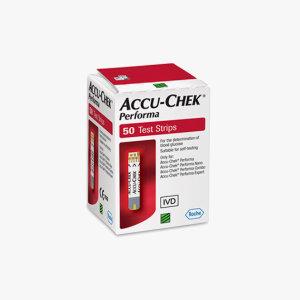 아큐첵 퍼포마 혈당시험지(50매)/당뇨/혈당지