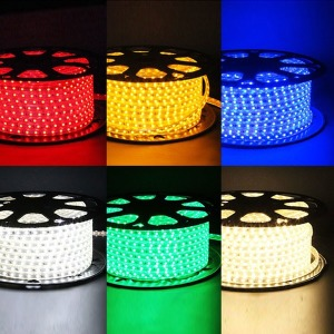 LED 칩형 플렉시블 논네온 50m RGB 줄네온 네온사인