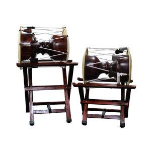 한울림국악기 장구받침대 (앉은반/선반/고고장구용)