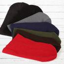 국산 고급 비니 (롱) 니트 모자 남녀공용 자수 가능