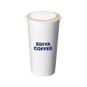(이디야커피) (EX)카페라떼