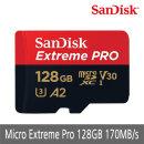 정품 Extreme Pro MicroSDXC 128GB 170MB/s 당일발송