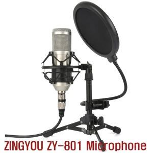 ZINGYOU ZY-801 Microphone 먹방 유튜브 마이크 ASMR