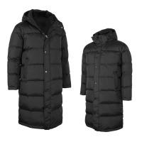 남녀공용오리털100% 롱다운점퍼/패딩/벤치코트/단체복