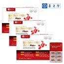 종근당 철분 엽산 비타민D 플러스(500mgx60캡슐)3박스