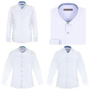 긴팔하얀색셔츠 긴팔화이트셔츠 하얀셔츠 정장흰셔츠