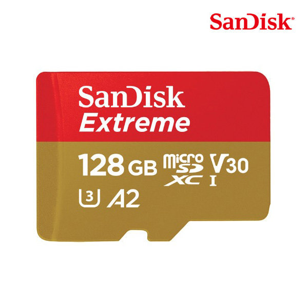 RY무료배송 샌디스크 MicroSD C10 Extreme 128GB QXA1