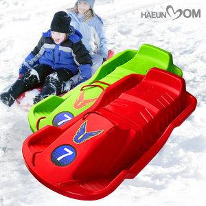 하은맘 눈썰매 고급형 2인용 썰매 스키장 눈썰매장