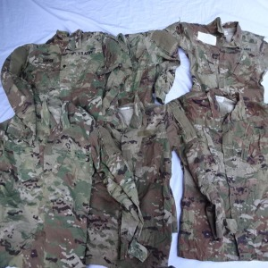 미군작업복 멀티캠작업복 상의작업복 군복작업복