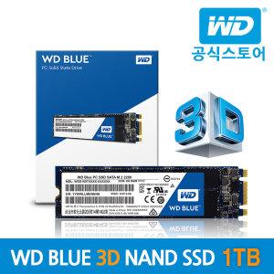 WD Blue M.2 2280 3D SSD 1TB WD공식총판/우체국택배