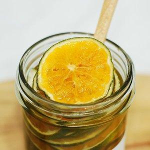 다다홈쿡 수제청 과육이 풍부한 비타민 청귤청 500g