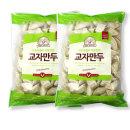 사조 교자만두 1.25kg + 1.25kg 대용량 /소스2봉 증정