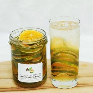다다홈쿡 수제청 과육이 풍부한 비타민 청귤청 800g
