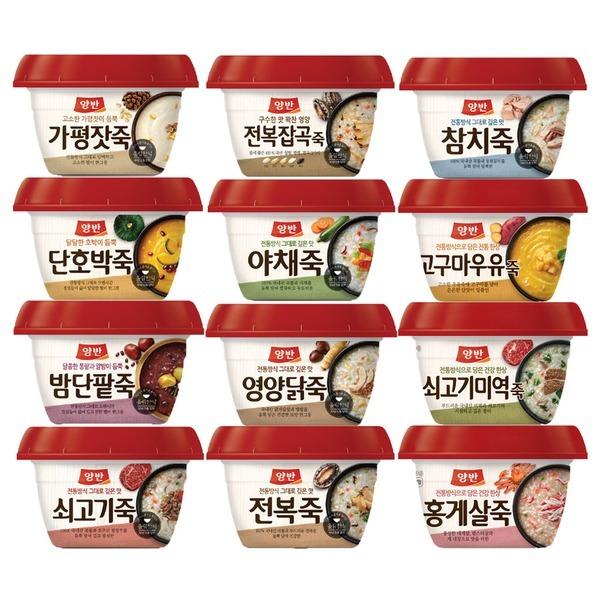 동원죽/양반죽/파우치죽 21종 원하는 만큼 골라담기