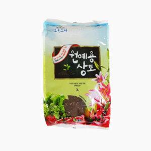 초록스타 원예용 상토 3L 상추 고추 깻잎 흙 상토흙