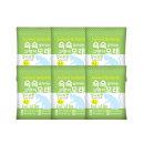 쇽쇽모래 청사과향 4L x 6개 (0062f)/무배/벤토나이트
