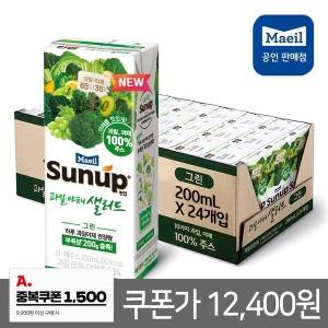 썬업 과일야채샐러드 그린 200ml 24팩/주스/쥬스/음료