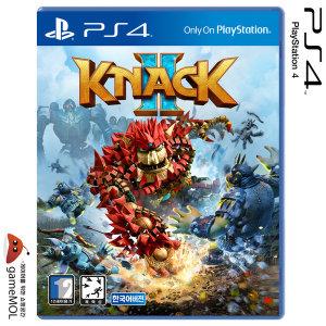 PS4 낵 2 (KNACK 2) 한글판 / 낵2 / 소니공식대리점
