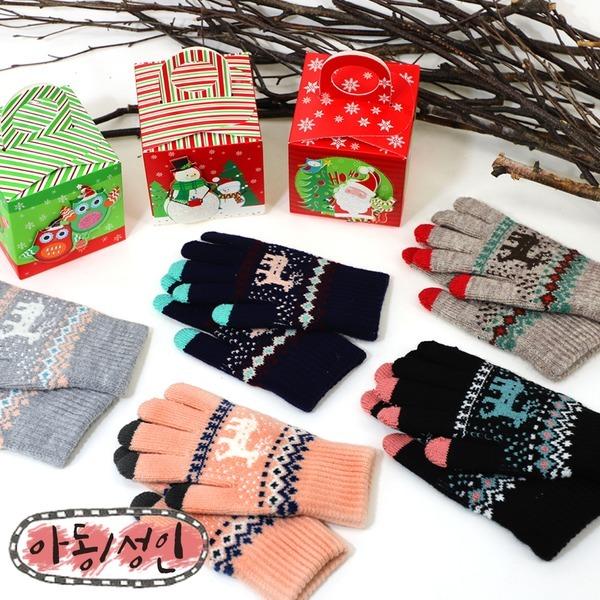 노르딕터치장갑/아동터치장갑/크리스마스선물/신상