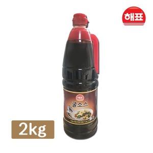 굴소스 2kg 대용량 파기름 볶음 만능 중화 중국 소스