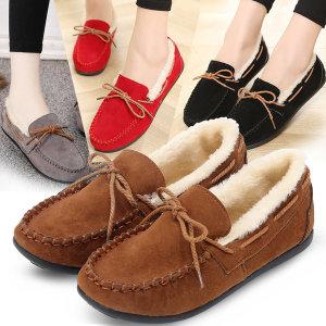 달링57700 여성 퍼안감 모카슈즈 털 단화 신발