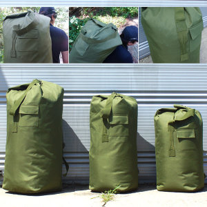 포켓 더블백 군용 더플백 캠핑가방 여행가방 약초가방