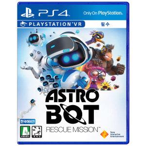 PS4/PSVR 아스트로봇 레스큐 미션 한글/VR필수