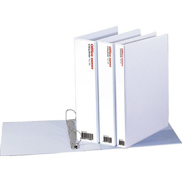 투명D링바인더(5cm/OfficeDEPOT)