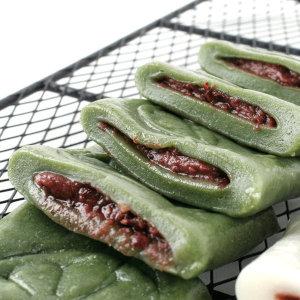 굳지않는 앙꼬 쑥 절편1kg/앙금떡/바람 꿀떡 쑥떡 2봉